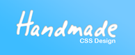 Image of the Handmade CSS Design Logo